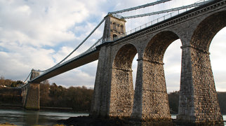 Menai Suspension Bridge>