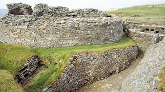 Midhowe Chambered Cairn>