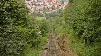 Monte San Salvatore funicular>