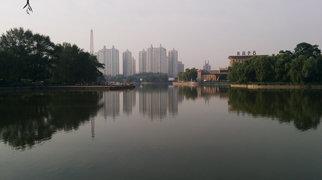 Monument to Nizami Ganjavi in Beijing>