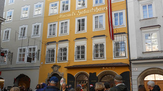Mozart's birthplace>