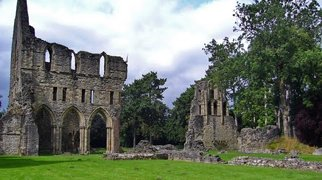 Much Wenlock Priory>