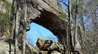 Natural Bridge State Resort Park>