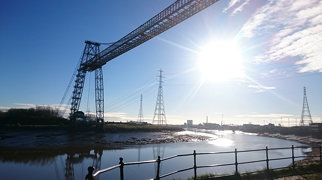 Newport Transporter Bridge>