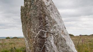 Nine Maidens stone row>