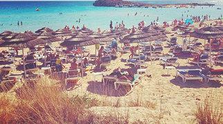 Nissi beach>