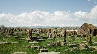 Cimitirul Noratus din Armenia>