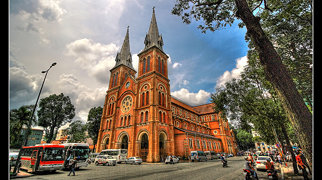 كاتدرائية سايغون نوتردام>