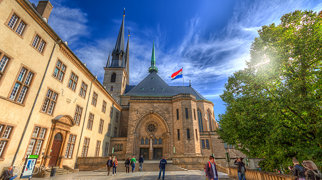 Notre-Dame Cathedral, Luxembourg>