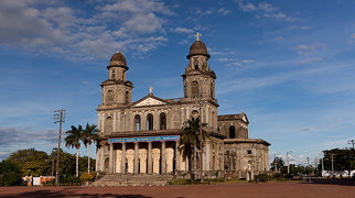 Old Cathedral of Managua>