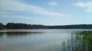 Озеро в карьере Таменгонт>