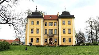 Pałac w Łomnicy>