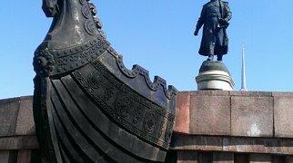 Памятник Афанасию Никитину в Твери>