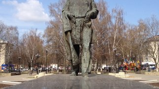 Памятник Льву Толстому (Тула)>