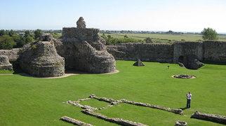 Pevensey Castle>