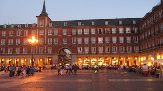 Plaza Mayor, Madrid>