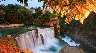 Pliva waterfall>
