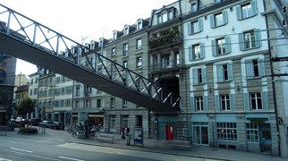 Polybahn funicular>
