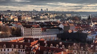 Prague Castle View Point>
