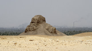 Pyramid of Amenemhat III (Dahshur)>