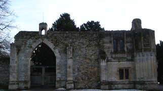 Ramsey Abbey Gatehouse>