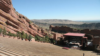 Red Rocks Amphitheatre>