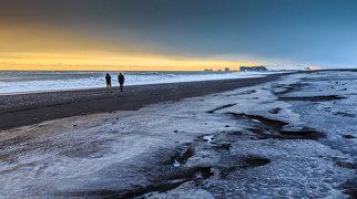 Reynisfjara beach>