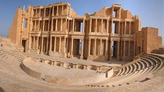 Sabratha amphitheatre>