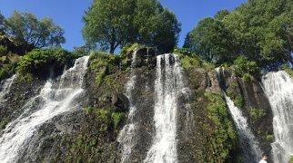 Шакинский водопад>