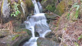 Slick Rock Falls>