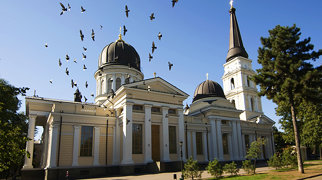 Transfiguration Cathedral in Odessa>