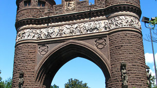 Soldiers and Sailors Memorial Arch>