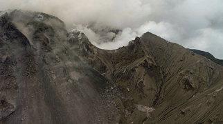 Sufriero kalvų ugnikalnis>