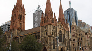 St Paul's Cathedral, Melbourne>