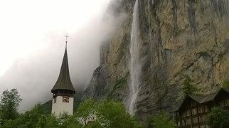 シュタウプバッハの滝>