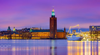 Stockholm City Hall>