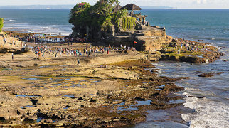Tanah Lot Beach>