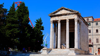 Temple of Augustus (Pula)>