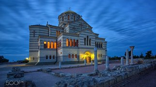 The Vladimir Cathedral in Chersonese>