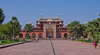 Tomb of Akbar the Great>