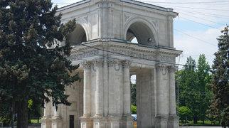Triumphal arch, Chişinău>
