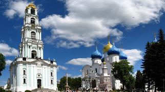 Dreifaltigkeitskloster von Sergijew Possad>