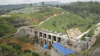 Upper Kotmale Dam>