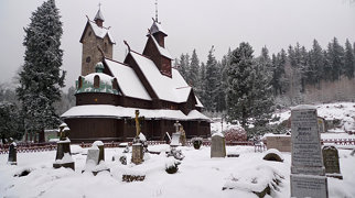 Vang stave church>