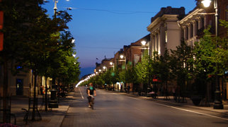 Vilnius' Old Town>