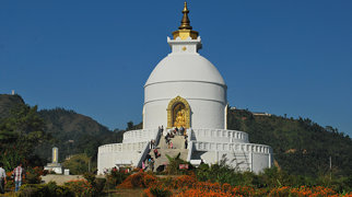 World Peace Pagoda, Nepal>