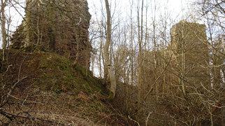Yester Castle>