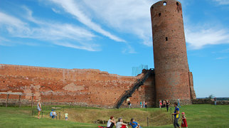 Zamek książąt mazowieckich w Czersku>