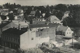 Świdwin Schivelbein pozostałości wojny Pommern Pomorze