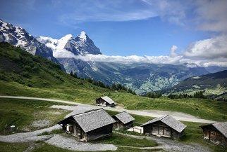 Grindelwald und Wetterhorn